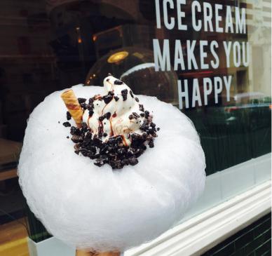 Il gelato a forma di nuvola - Gallery