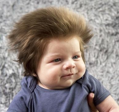 Il bambino con i capelli più folti del mondo - GALLERY