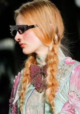 Acconciatura trecce by Gucci