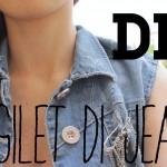 DIY  *Gilet di Jeans*