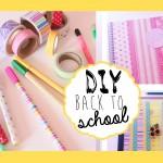 DIY: Decoriamo quaderni, block notes& matite!