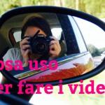 COME REALIZZO I VIDEO? Tutto su luci, fotocamera, editing!