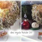 Idea regalo per Natale DIY – Centrotavola Portacandela