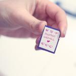 Come organizzo le mie memory card e chiavette usb – DIY