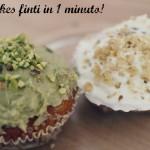 """Cupcakes """"finti"""" in 1 minuto"""