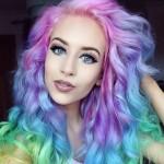 Tendenze colore capelli 2015: Arcobaleno dalle tinte pastello