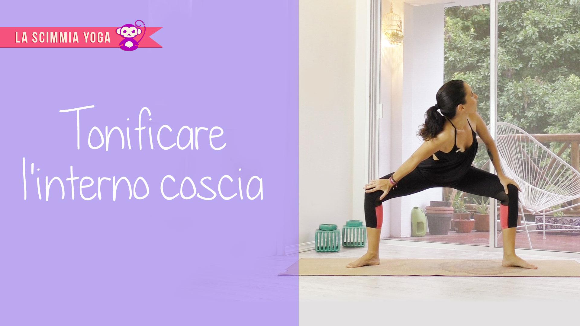 tonifica le gambe con semplici posizioni yoga