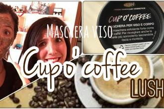 """Maschera LUSH """"CUP O' COFFEE"""""""