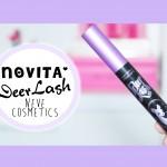Nuovo Mascara DeerLash + Applicazione – Neve Cosmetics
