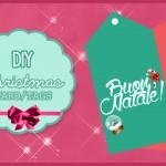 Diy come realizzare dei tag natalizi