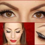 Glitter Eyeliner per le Feste