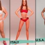Esiste il fisico perfetto? La donna ideale in 18 Paesi del mondo