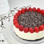 Cheesecake Oreo e Lamponi, ricetta senza cottura