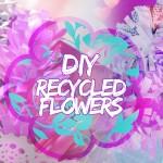 Diy recycled-flowers: come creare dei fiori con le riviste!