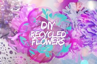 creare dei fiori con le riviste