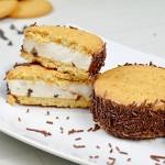 Biscotto gelato con panna e yogurt – VIDEO RICETTA