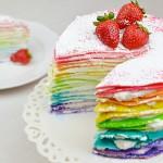 Torta Arcobaleno di Crepes – VIDEO RICETTA