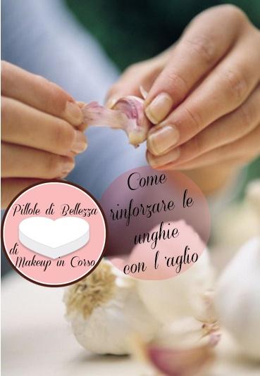 Come rinforzare le unghie con l'aglio