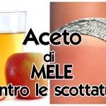 Aceto di mele contro le Scottature