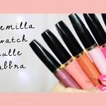 Swatch sulle labbra Alkemilla Full color lipstick