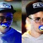 Justin Bieber va in giro con un ciuccio in bocca