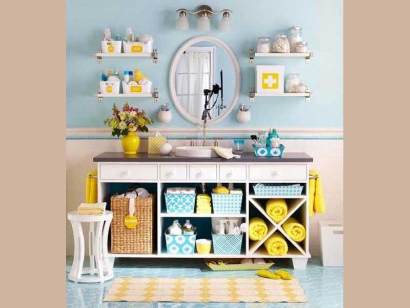 Come arredare coi colori pastello wegirls - Idee per il bagno piccolo ...