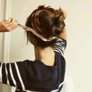 chignon idee capelli facili