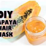 Doppie punte: combattiamole con questa maschera per capelli alla papaya