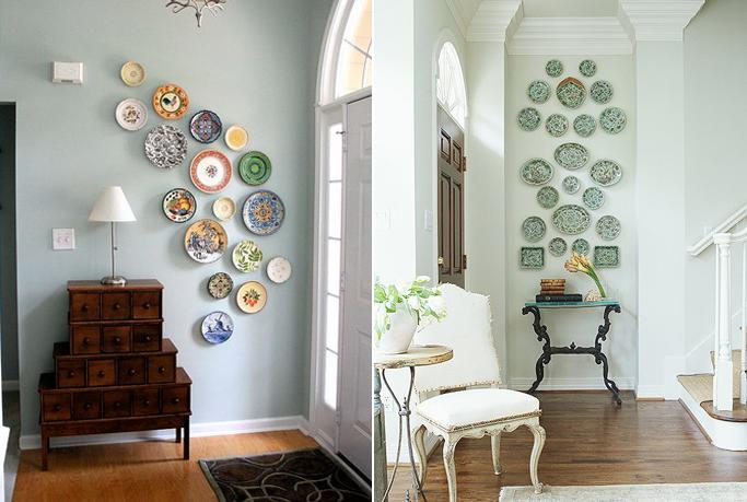 Dieci idee per decorare una parete bianca - Decorare la cucina ...