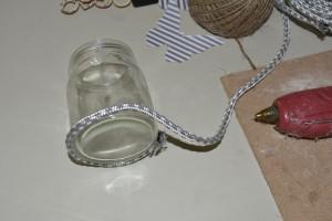 Diy: decorazione vasetto con corda