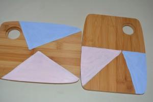 Diy 2: taglieri colorati
