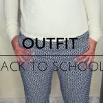 Due outfit per il ritorno a scuola