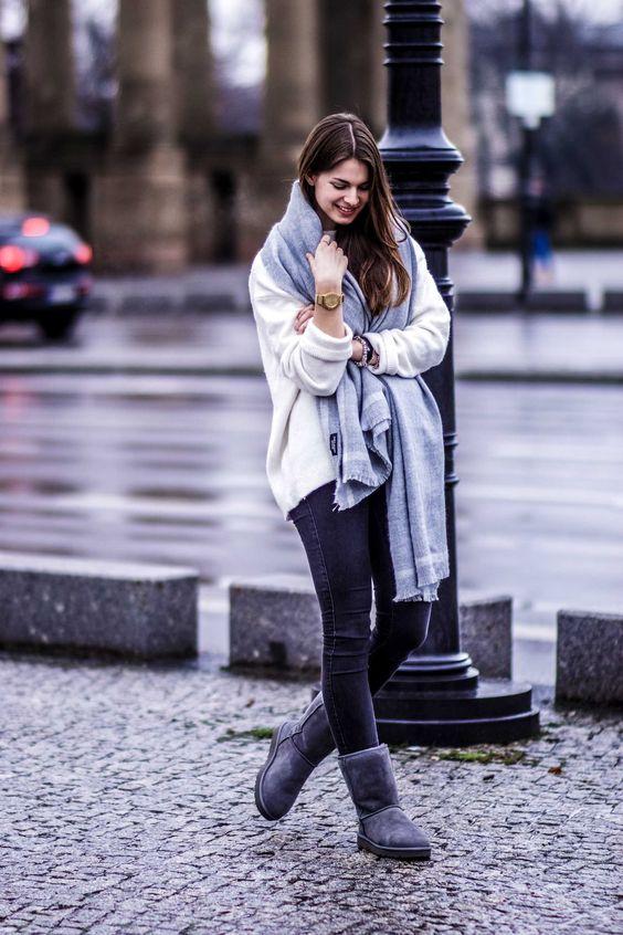 come indossare stivali ugg