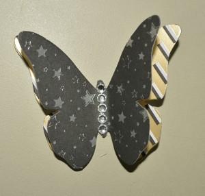Farfalle di carta pronte