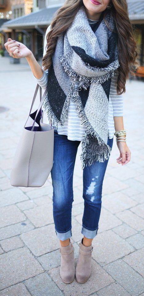 Come Indossare Una Sciarpa Idee Outfit Autunno | WEGIRLS