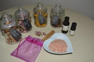 Ingredienti sali da bagno