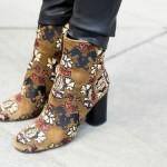 stivaletti ricamati: moda scarpe inverno 2016
