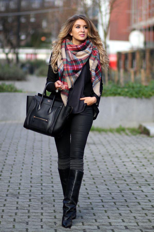 maxi sciarpa