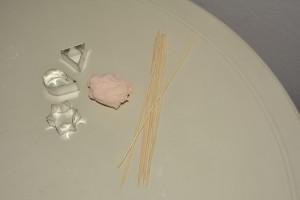 Occorrente per profumatore ambienti con pasta di borotalco