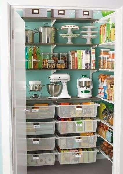 Organizzare la cucina 5 consigli utili per ottenere pi - Dispense per cucina ...