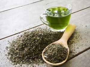 tè verde capelli