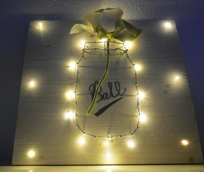 quadretto con luci