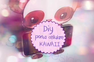 porta cellulare kawaii