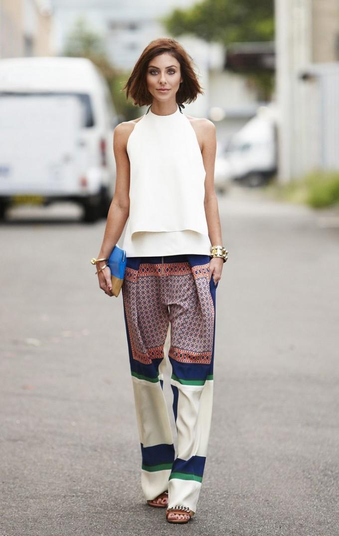Preferenza Pantaloni di seta: il must have per la primavera estate 2017 | WEGIRLS NQ79