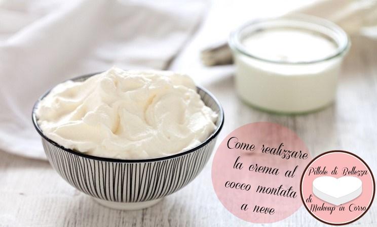 Come realizzare la crema all'olio di cocco morbida
