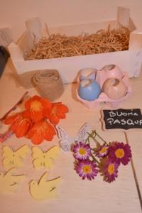 Occorrente centro tavola di Pasqua