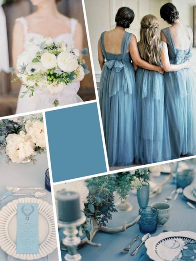 Matrimonio Colore Azzurro : Blu niagara il colore per i matrimoni idee su come