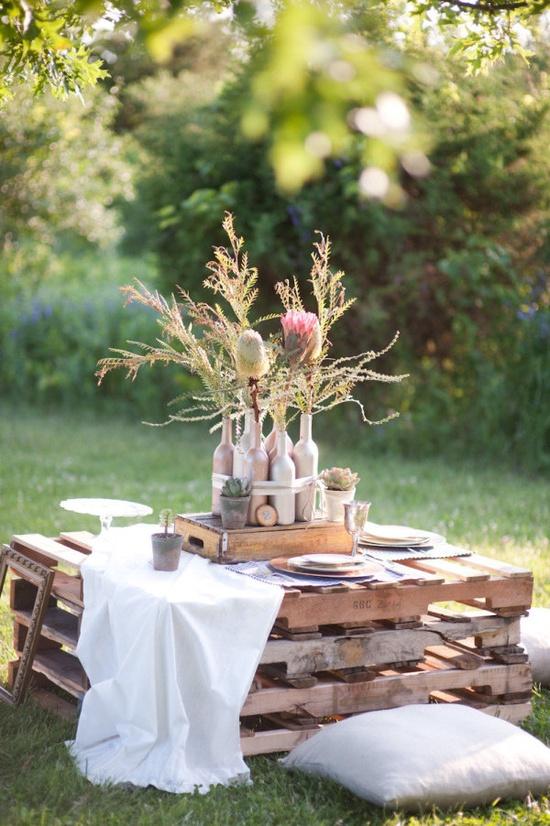 Pallet tre idee di riciclo per riutilizzarli in giardino for Soluzioni alternative al giardino