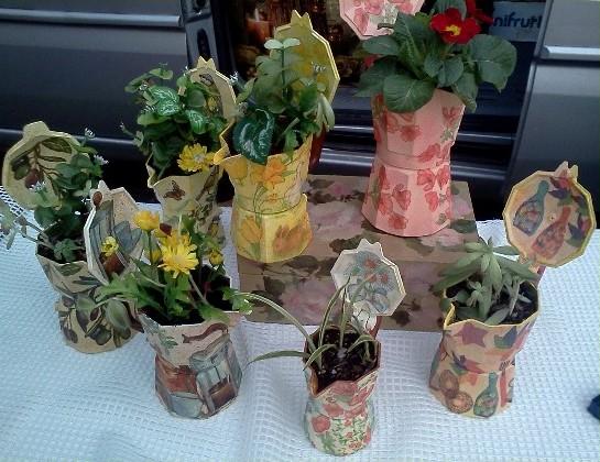 Vasi per piante idee alternative e soluzioni low cost - Vasi per piante grasse ...