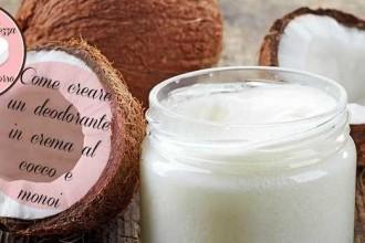 Come creare un deodorante in crema al cocco e monoi